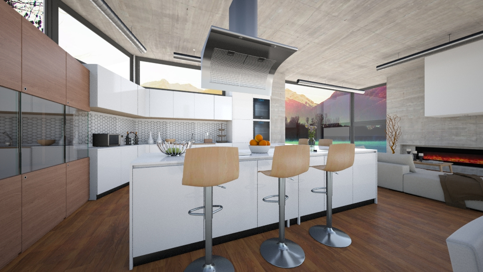 OpenDesign - Modern - Kitchen - by channing4