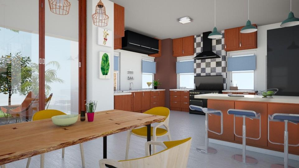 new - Kitchen - by dianemonton11