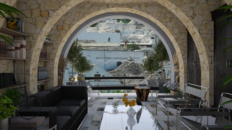 Alberobello - Living room - by LuzMa HL