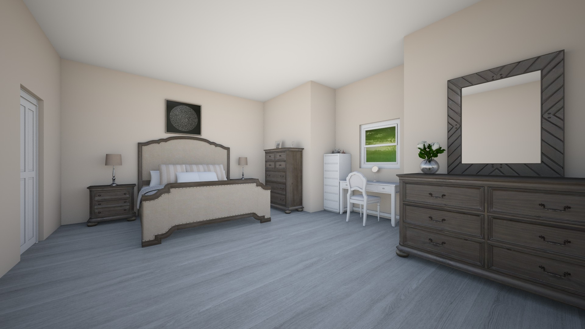 Rustic Bedroom - by Khyra