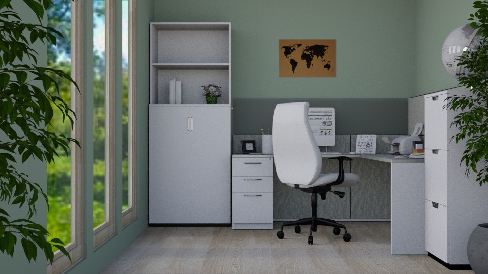 Working at Home - Modern - Office  - by stephendesign