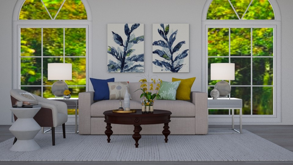 Made to inspire - Global - Living room - by Nina Colin
