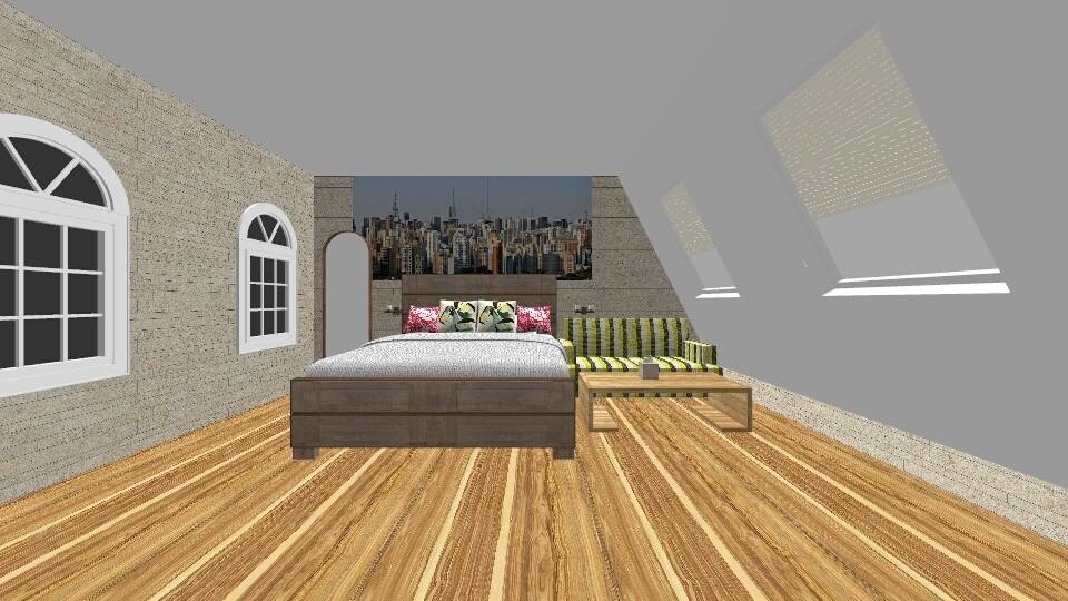 Citi Attic - Bedroom - by New York Mets