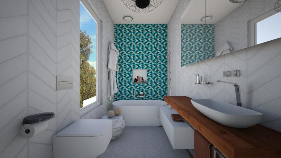 bath1 - Bathroom - by Glendyx