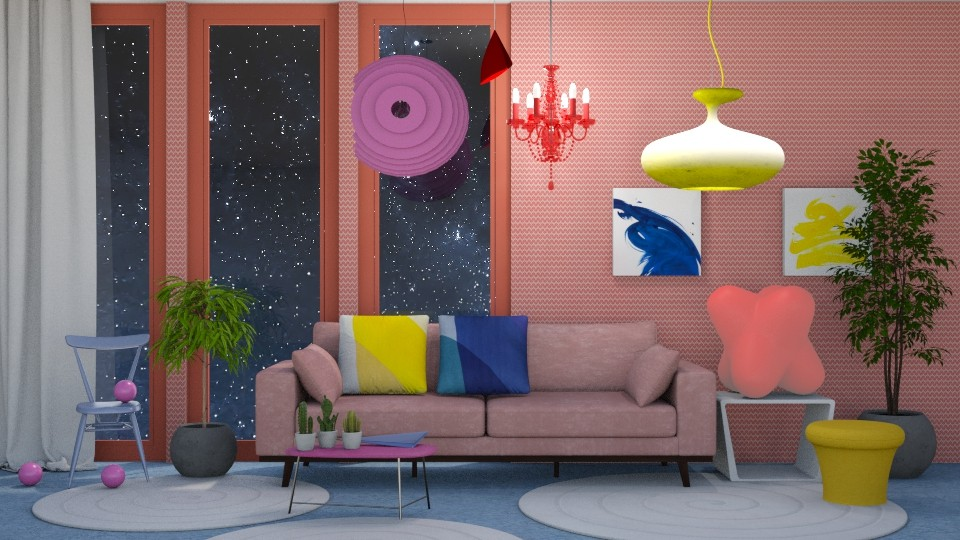 Magnetic Living Room - Living room - by LaughingDonut