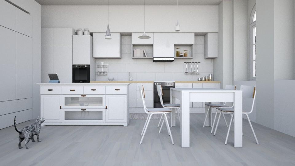 A Scandinavian Kitchen - by dianemonton