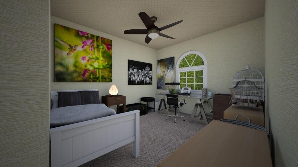Kloey 1 - Bedroom - by scourgethekid