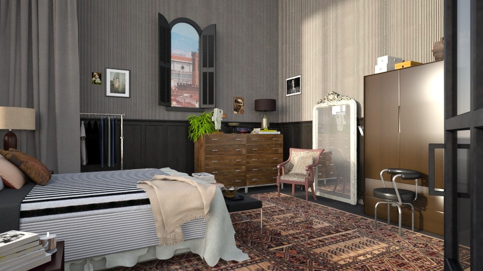 eclectic - Bedroom - by marinmarin