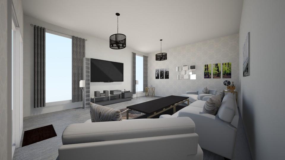 mn - Living room - by marius iulian
