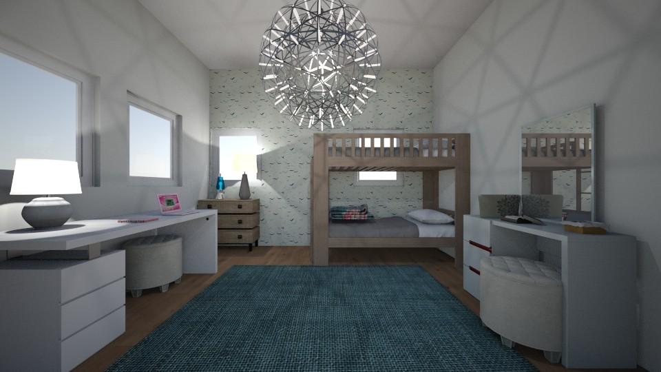 Teen Bedroom - Bedroom  - by Design3690