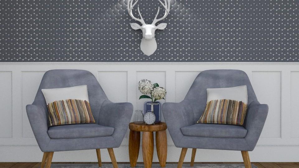 symmetry - Living room - by pandajoy