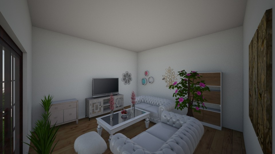 cool - Feminine - Living room - by RollPinkEra