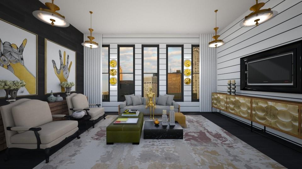 savta2 - Living room - by Hadar David hay