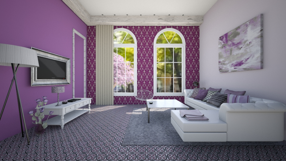 purple - by debbygoyens