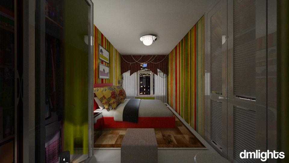 Pequeno Apartamento - Bedroom - by DMLights-user-994540