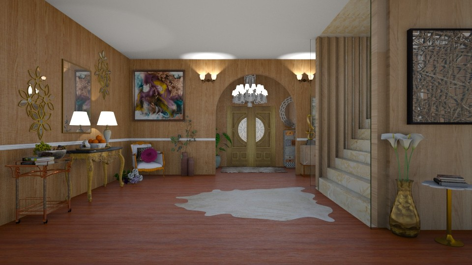 MH Hallway - Modern - by Art_Decoration