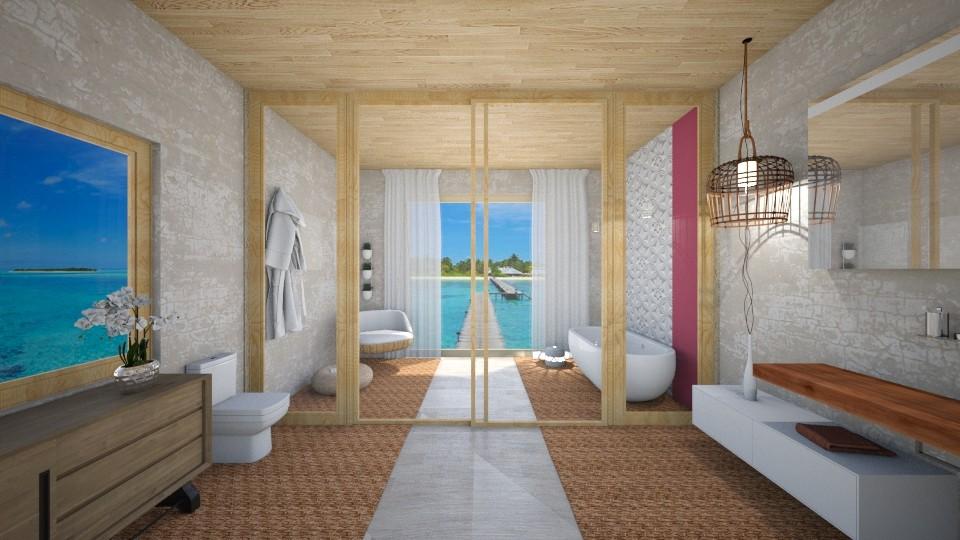 Beach House Bathroom - Bathroom - by klmmorales