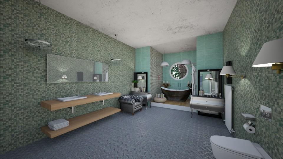 bathroom interior  - Modern - by Nikos Tsokos