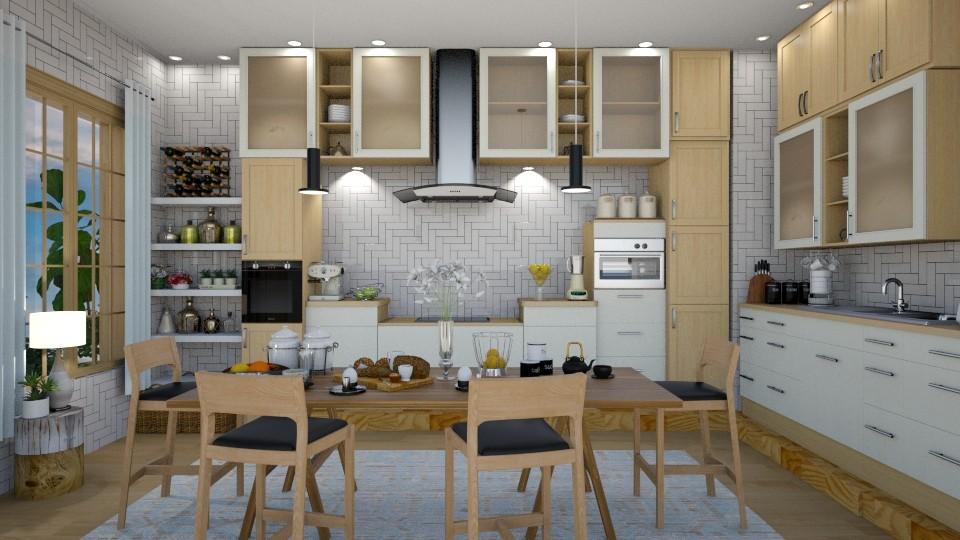 Scandinavian kitchen - Kitchen - by mari mar