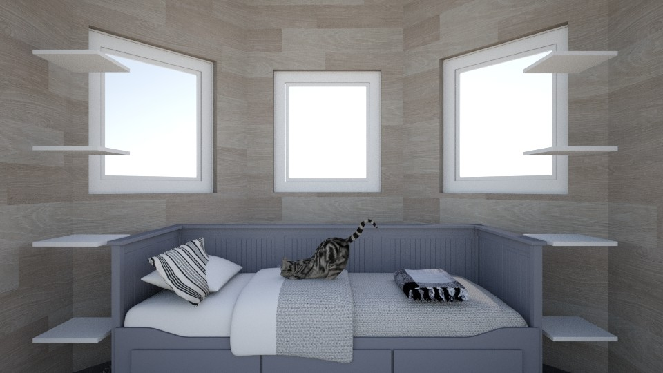 Lucyz room - Rustic - Bedroom - by Pizzgirls