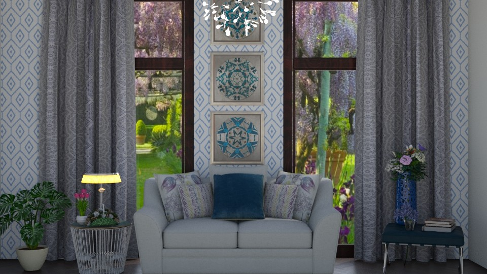 Spring - Living room - by Ancy