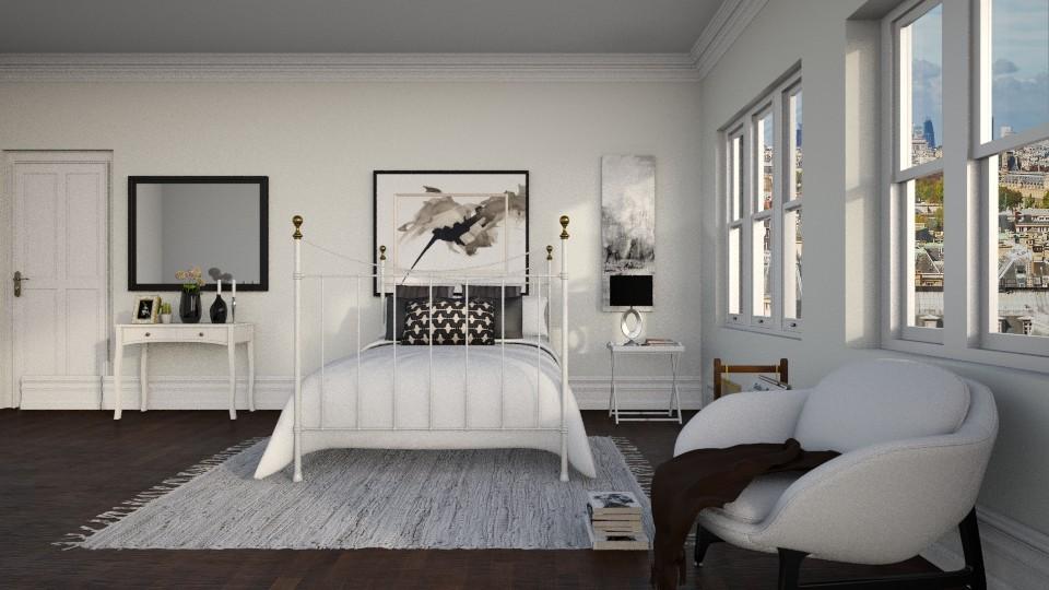 paris app bedroom - by ANAAPRIL
