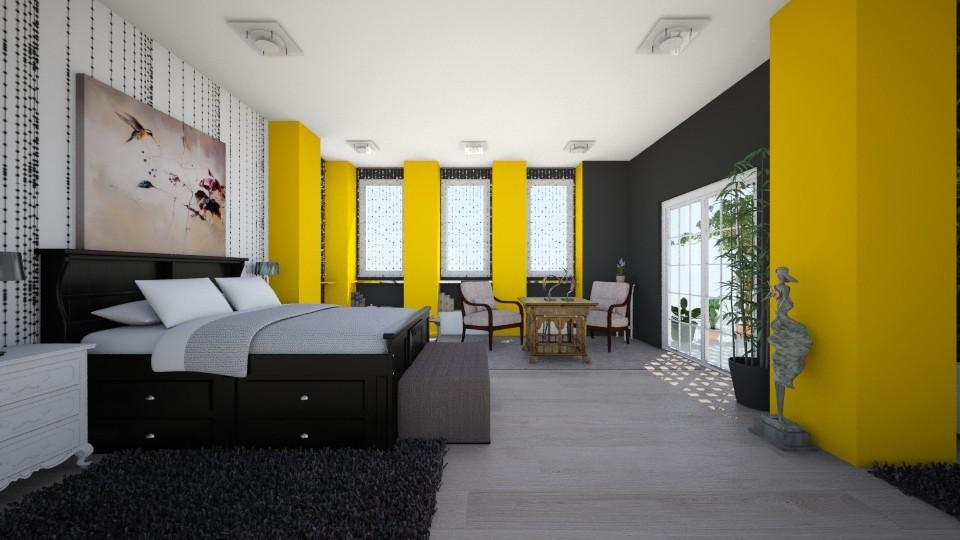 Suit_bedroom_4 - Bedroom - by Lucy Miranda