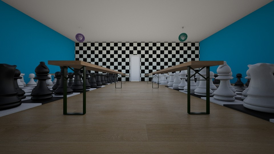 Life Size Chess Competion - by Star98