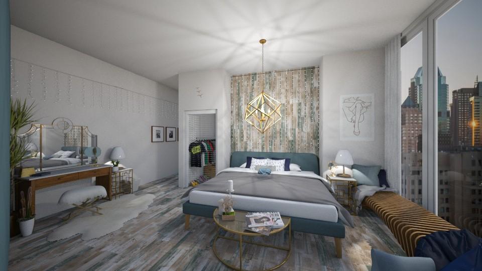 Playful  - Modern - Bedroom  - by tieganclayton