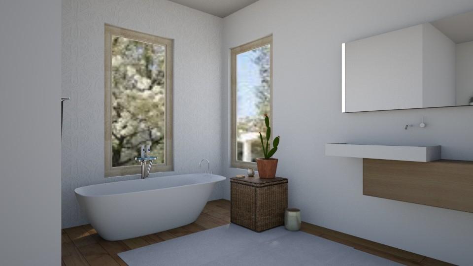 bathroom - by Jessica Evelyn
