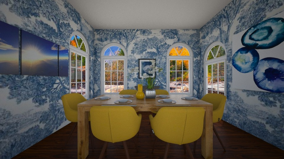 Here Comes The Sun - Dining room  - by house17