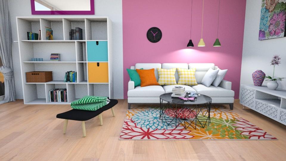 summer colors - Modern - Living room - by zayneb_17