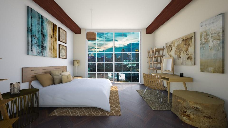Bedroom - Bedroom - by CatLover0110