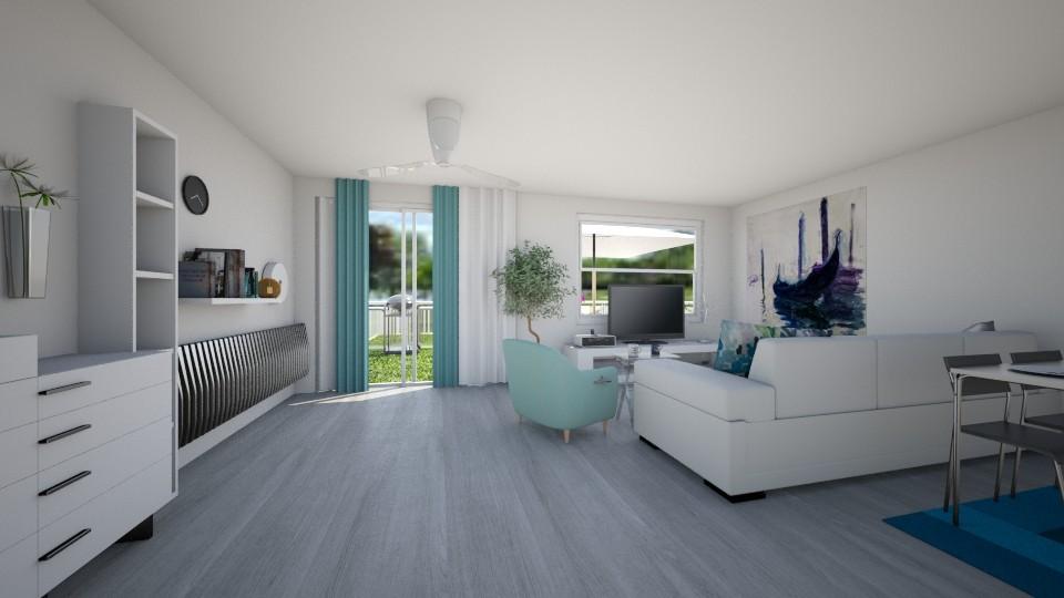 salon - Living room  - by Dominisiaa55555