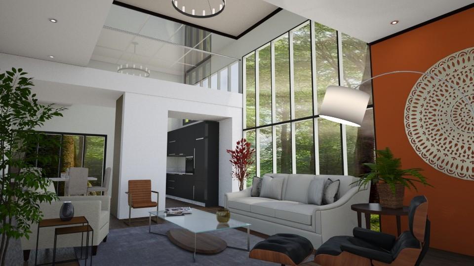 UL - Living room  - by yonvie