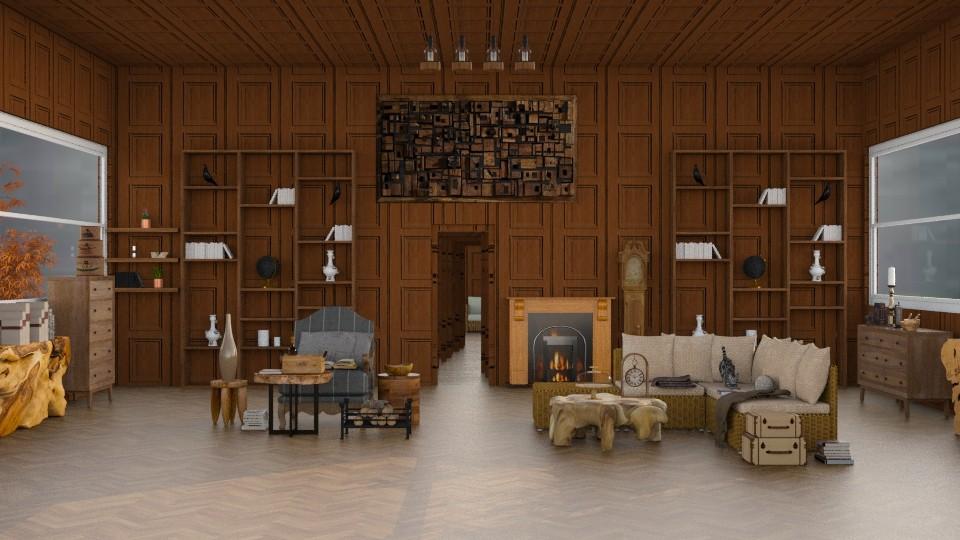 WonderfulWood  - Rustic - Living room - by InteriorDesigner111