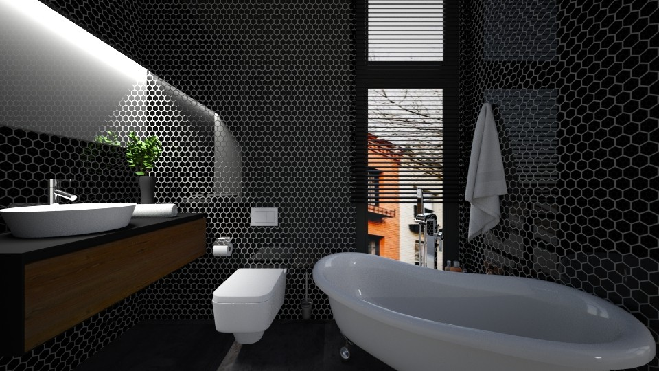 Casa247Bathroom - Eclectic - Bathroom - by nickynunes