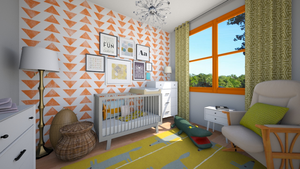 nursery - Kids room  - by cyndyrelly