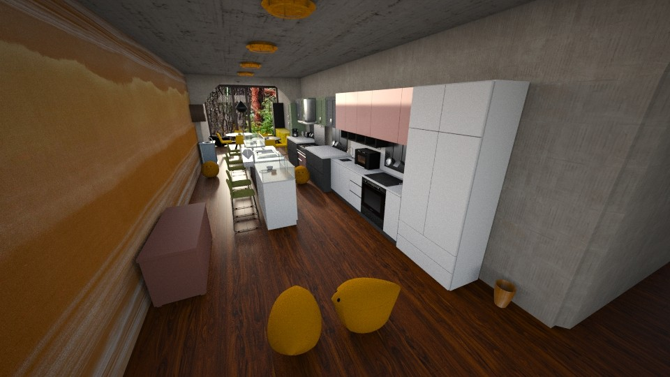 endless kitchen - Kitchen - by Mannon