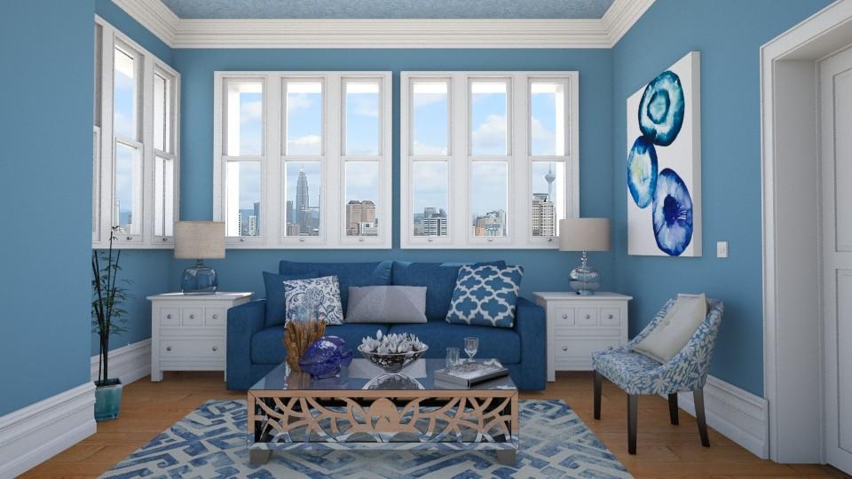 blue - by Isabella_Palmeri
