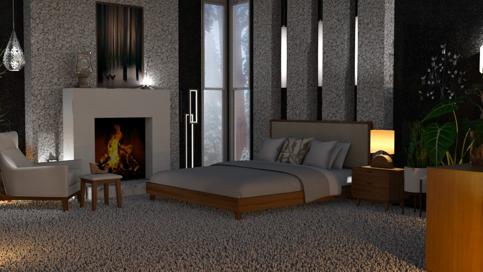 MC Modern Bedroom - Modern - Bedroom - by Sue Bonstra
