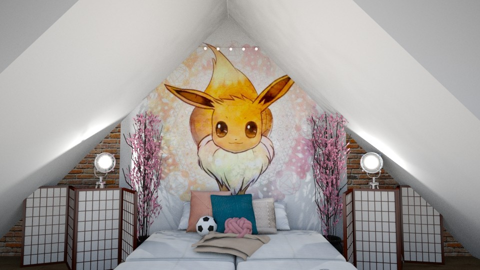 Cute Magna Eevee_Daisy - Classic - Bedroom - by BeautifulB