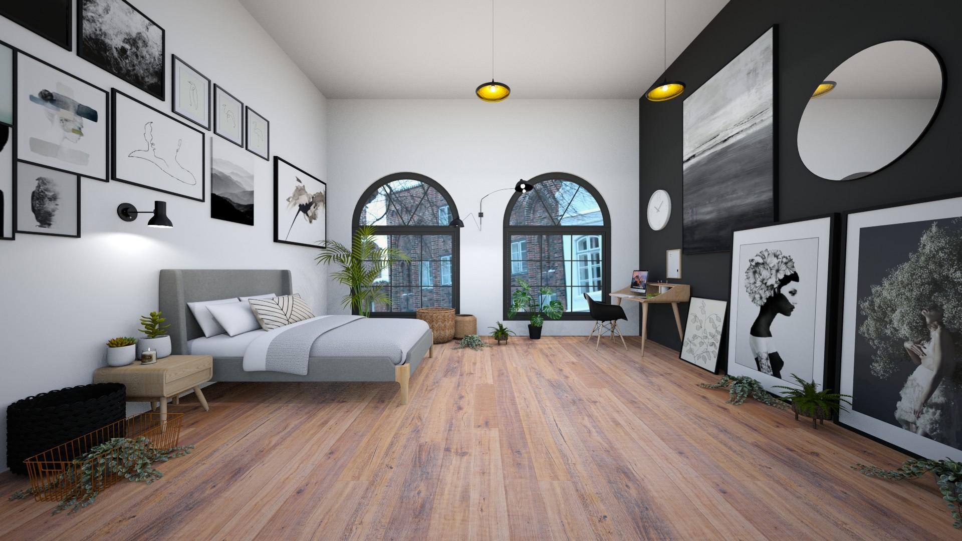 scandi bedroom - Minimal - Bedroom  - by Happyspaniel
