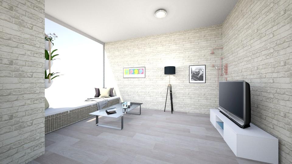 modern living room - Modern - Living room - by Viktoria Kubalova