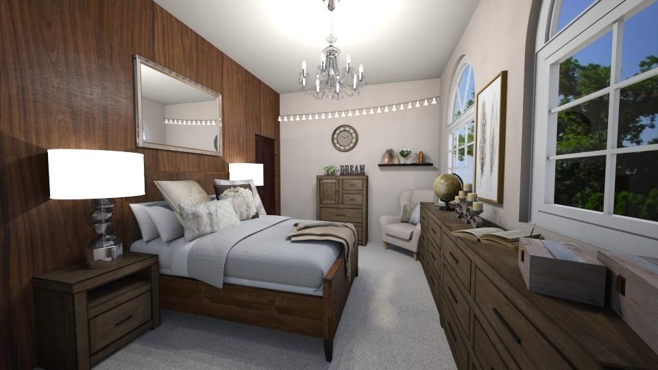 cosy bedroom - by martynare3