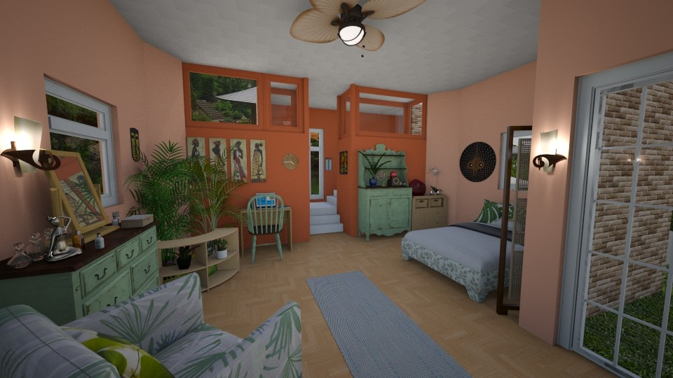 Yoga Space 3 - Bedroom - by XelleWishes
