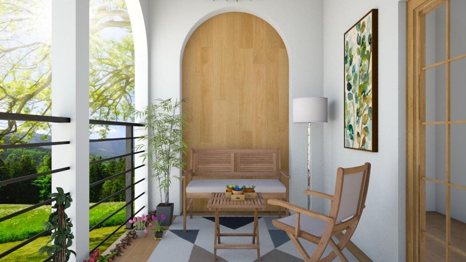 balcony - by Sanja Pipercic