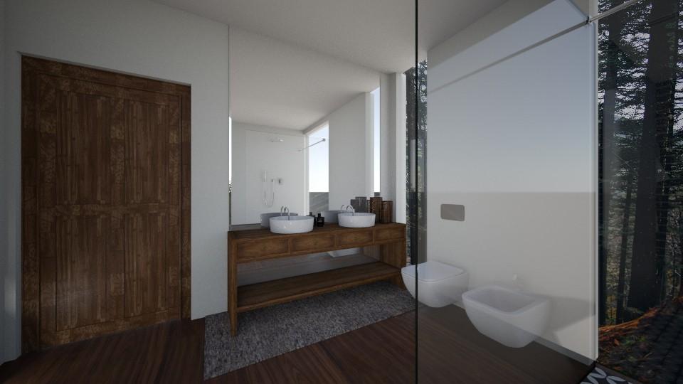 bath 2 - Modern - Bathroom - by nazlazzhra