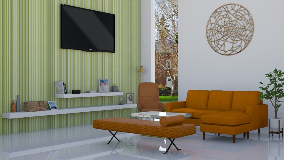 refreshing one - Living room - by Asfa Asad