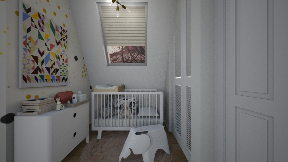 Casa239Nursey - Eclectic - Kids room - by nickynunes